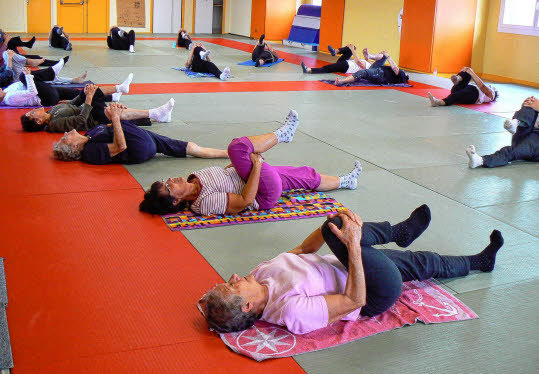 Cours de yoga pour tous les niveaux
